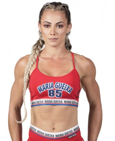 TOP RED ATHLETIC MARIA GUEIXA