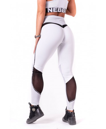 NEBBIA WHITE LEGGINGS WITH...