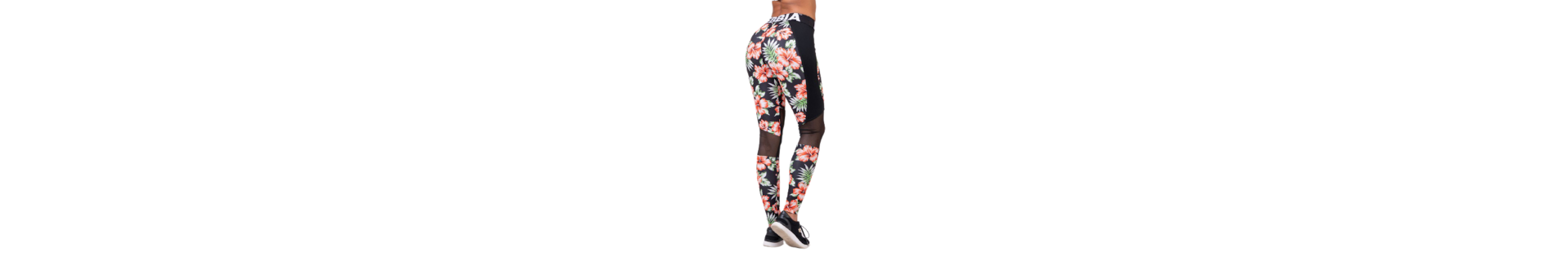 Flower printed leggings and with roses, daisies. Romance and style.