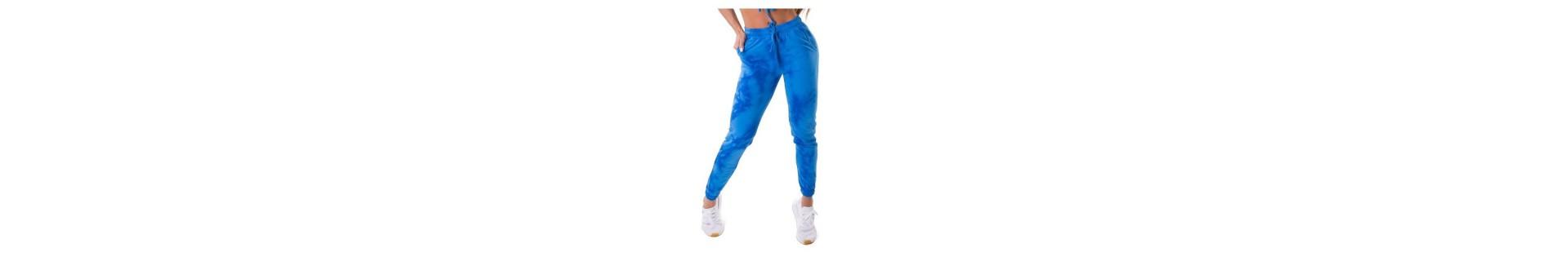 Pantaloni tuta sportivi, per bodybuilding e tempo libero, larghi