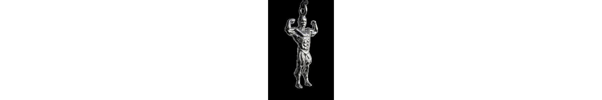 gioielli bodybuilding in argento 925